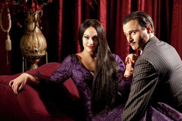 "A new international tour of the Broadway musical ""The Addams Family"" has been rehearsing at the Shubert Theatre in New Haven for the past few weeks and will present  its first performances there on Feb. 1 to 3. Photo: Contributed Photo / Connecticut Post Contributed"