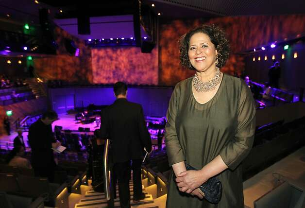 Actress Anna Deavere Smith arrives at the SFJAZZ Center for the opening night concert Wednesday, Jan. 23, 2013 in San Francisco. Photo: Lance Iversen, The Chronicle