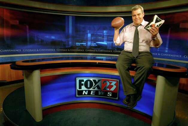 John Gray Fox 23 anchorman in Albany, New York 9/02/2009. (Michael P. Farrell / Times Union ) ( for CQ ) Photo: MICHAEL P. FARRELL / 00005265A