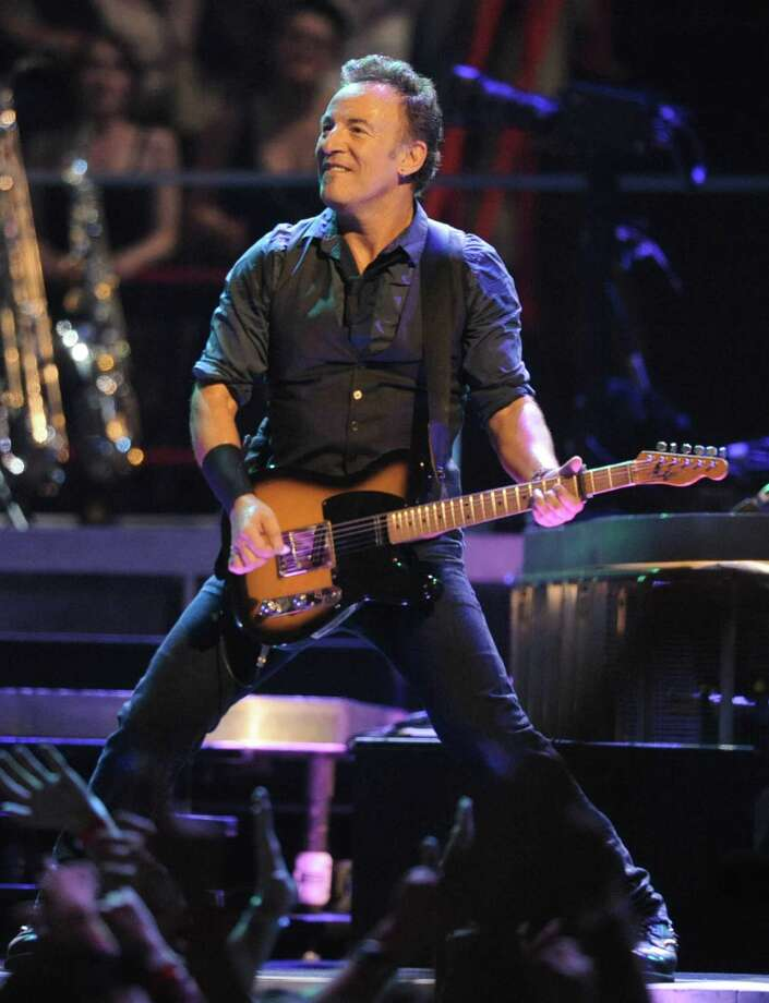 Bruce Springsteen performs to a sold-out crowd at the Times Union Center on April 16, 2012 in Albany, N.Y. (Lori Van Buren / Times Union archive) Photo: Lori Van Buren / 00017239A