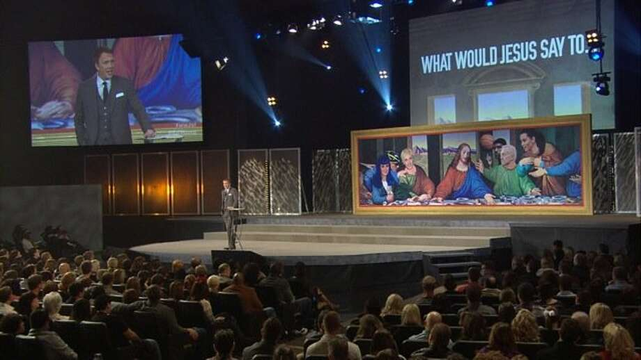 "The Rev. Ed Young of Fellowship Church in Dallas is preaching a series titled ""What Would Jesus Say to ..."" about life lessons to be learned from celebrities. Photo: Fellowship Church"
