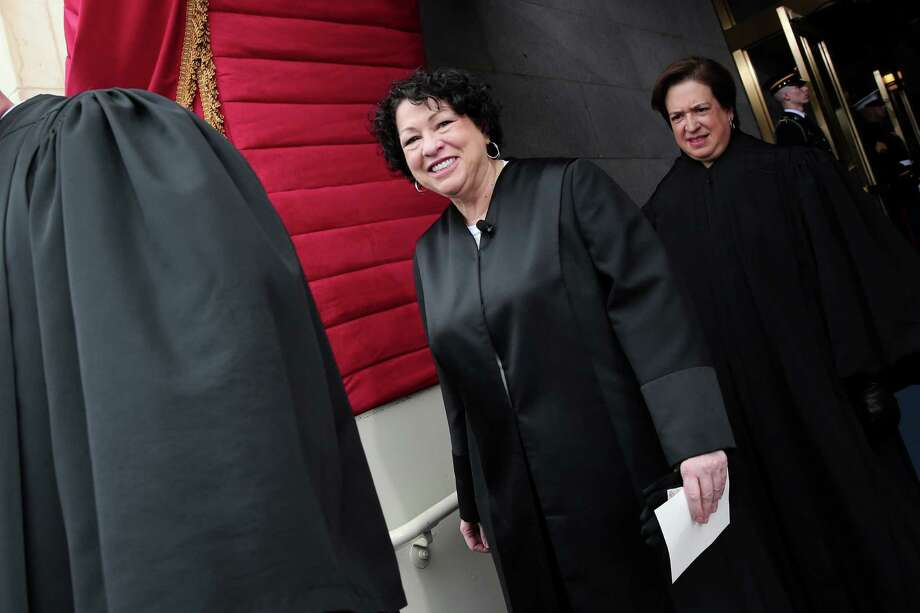 Supreme Court Justice Sonia Sotomayor arrives for the presidential inauguration last week. She says women should abandon the dream of having it all. Photo: McClatchy-Tribune News Service / MCT