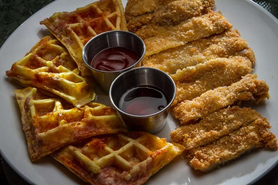 The Chicken and Waffles.
