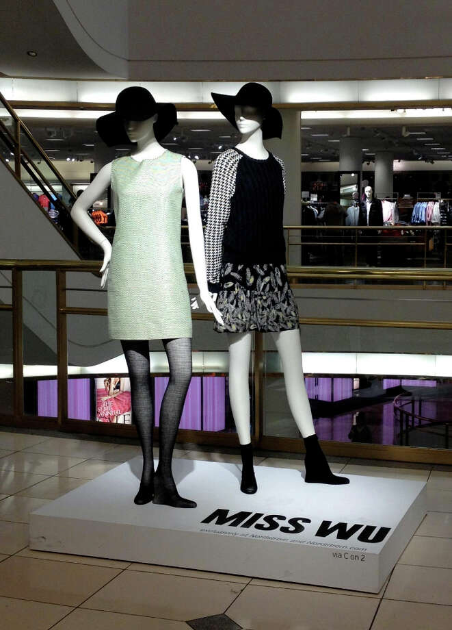 Miss Wu, Jason Wu's diffusion line, bowed at select Nordstrom stores, including San Francisco Centre, earlier this month.