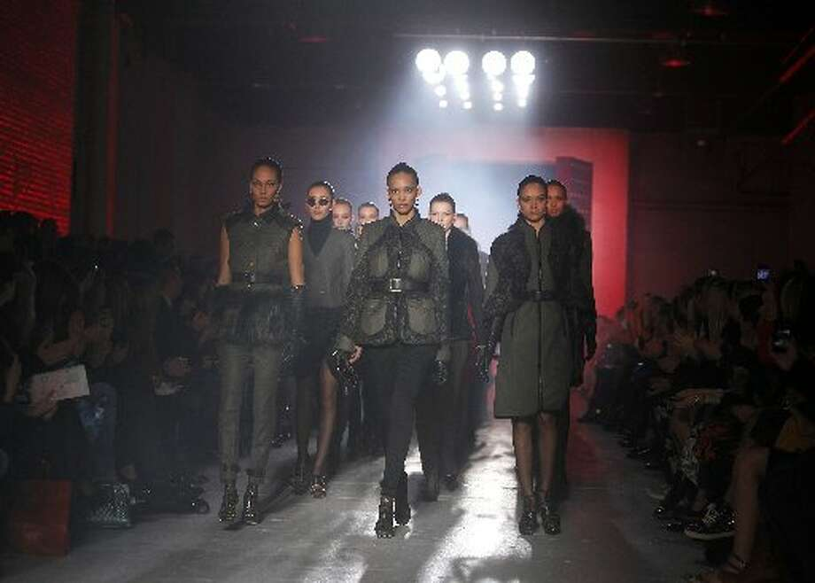 Jason Wu's Fall 2012 collection was inspired by China's military leaders of the past, as well as iconic representations of China.