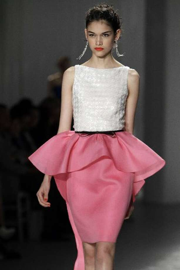 A very ladylike '50s-inspired look for spring 2012.