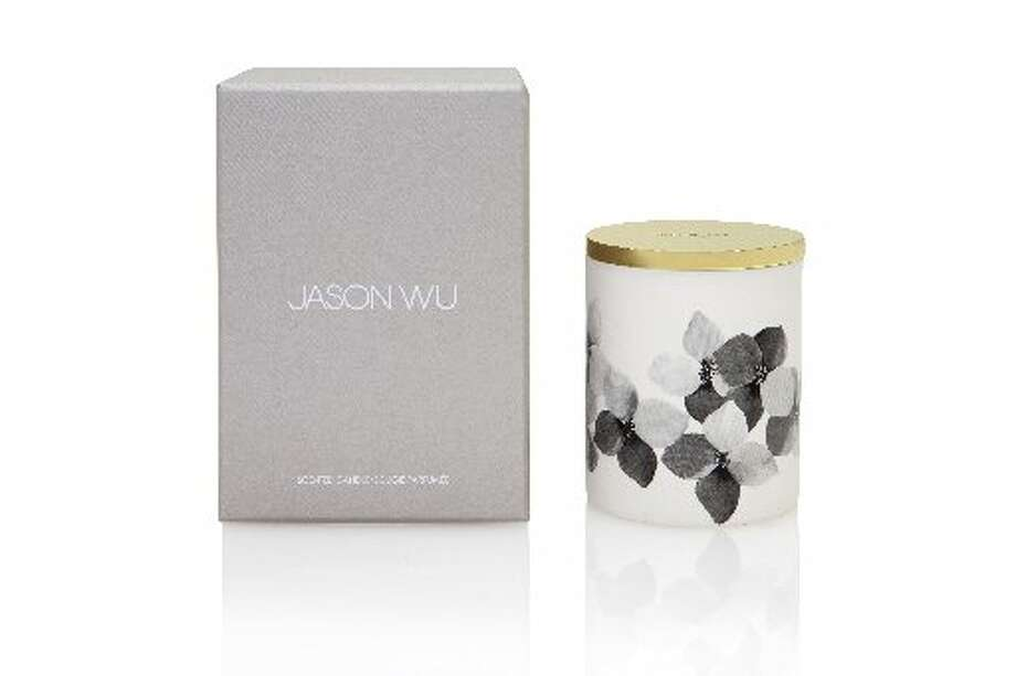 Wu's designed an orchid candle for Nest that was sold at Neiman Marcus last year.