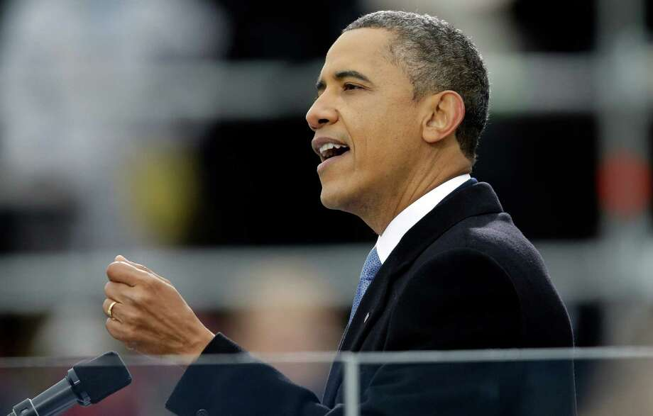 President Barack Obama's inaugural address touted a bold left-wing agenda for his second term. Nobody should have been surprised. Photo: J. Scott Applewhite, Associated Press / AP