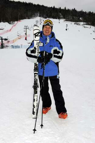 Snow sport trainer Mike McCabe at West Mountain Thursday Jan.17,2013 in Oueensbury, N.Y. (Michael P. Farrell/Times Union) Photo: Michael P. Farrell