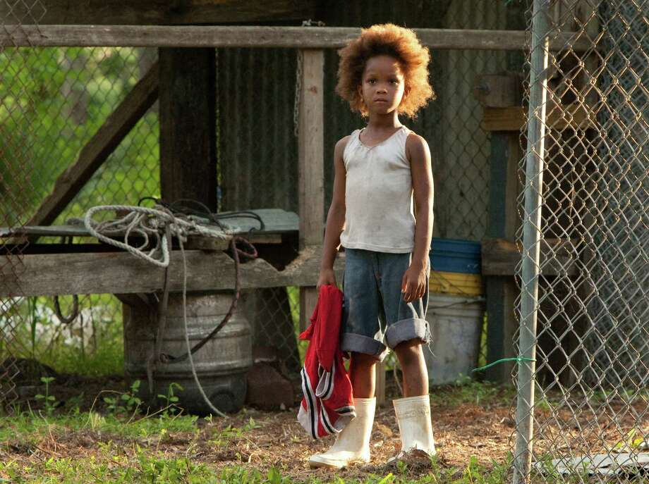 "FILE - This film image released by Fox Searchlight Pictures shows Quvenzhane Wallis portraying Hushpuppy in a scene from, ""Beasts of the Southern Wild.""  Wallis was nominated for an Academy Award for best actress on Thursday, Jan. 10, 2013, for her role in the film.  The 85th Academy Awards will air live on Sunday, Feb. 24, 2013 on ABC.   (AP Photo/Fox Searchlight Pictures, Mary Cybulski) Photo: Mary Cybulski"