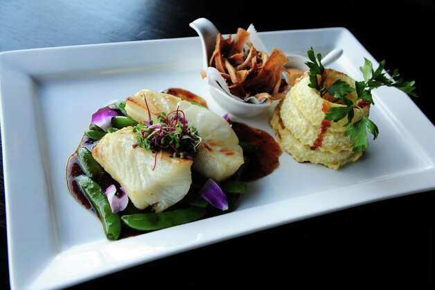 The Chilean Sea Bass at Wafu Asian Bistro at 3671 Post Road in Southport, Conn. Photo: Autumn Driscoll / Connecticut Post