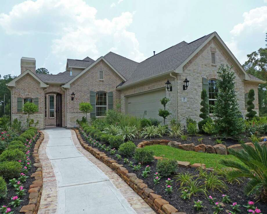 Coventry Homes presents patio-home designs at Timarron Lakes in Timarron in The Woodlands. Plan 5863 is a one-story home with 2,578 square feet. It is priced from $342,990.