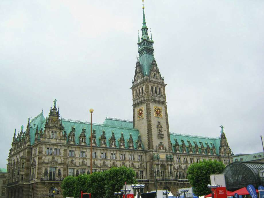 Hamburg built its city hall in the late 19th century to emphasize  the wealth and grandeur of turn-of-the-century imperial Germany. Photo: Ian Watson, Ricksteves.com