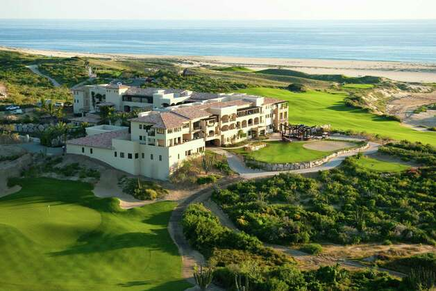 An aerial photograph of the Dunes Club at Diamante Cabo San Lucas is seen here. Photo: Contributed Photo