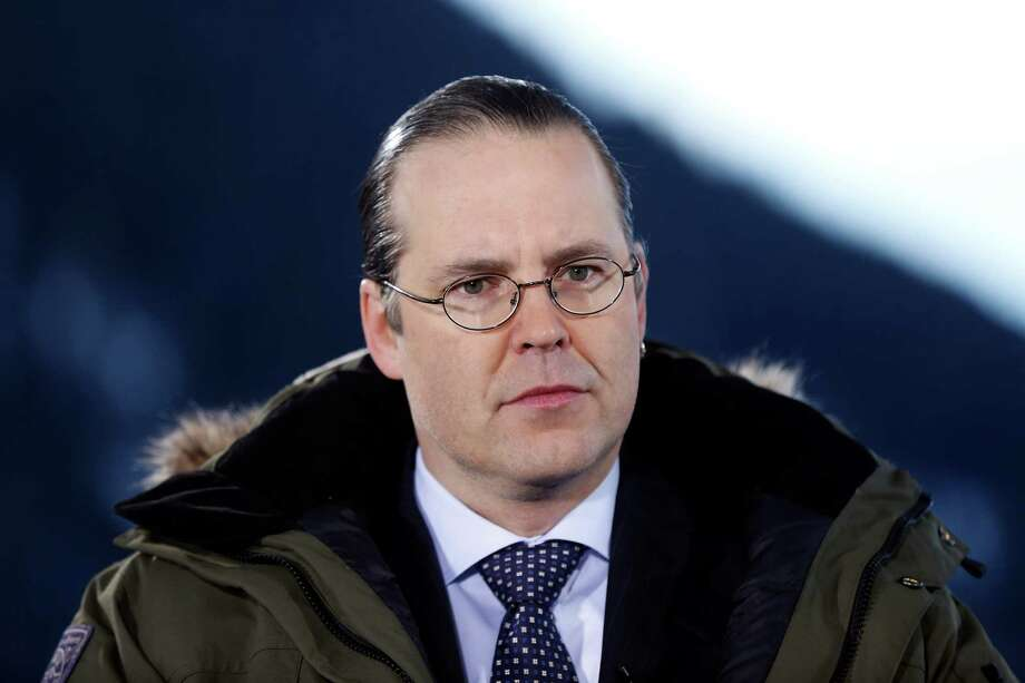 Anders Borg, Sweden's finance minister, speaks during a Bloomberg Television interview on day two of the World Economic Forum (WEF) in Davos, Switzerland, on Thursday, Jan. 24, 2013. World leaders, influential executives, bankers and policy makers attend the 43rd annual meeting of the World Economic Forum in Davos, the five day event runs from Jan. 23-27. Photographer: Simon Dawson/Bloomberg *** Local Caption *** Anders Borg Photo: Simon Dawson, Bloomberg / Copyright 2013 Bloomberg Finance LP, All Rights Reserved.