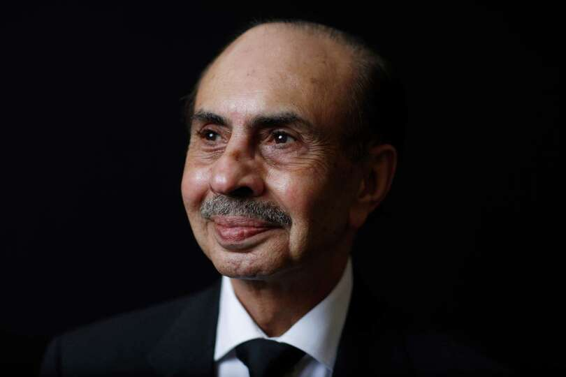 Adi Godrej, chairman of the Godrej Group, poses for a photograph following a Bloomberg Television in