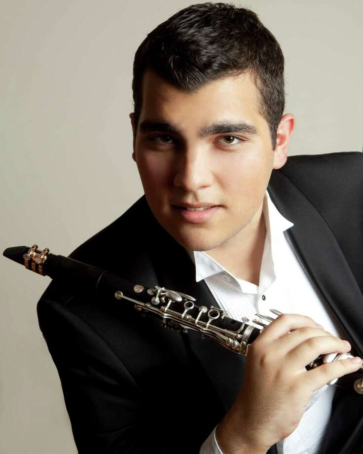 The Westport Arts Center will present a concert with Narek Arutyunian, an Armenian-born 21-year-old clarinetist, pictured, and pianist Solon Gordon, a recent graduate of Oberlin Conservatory, at 3 p.m. Sunday, Feb. 10, at Pequot Library, 720 Pequot Ave. Photo: Christian Steiner/contributed Ph