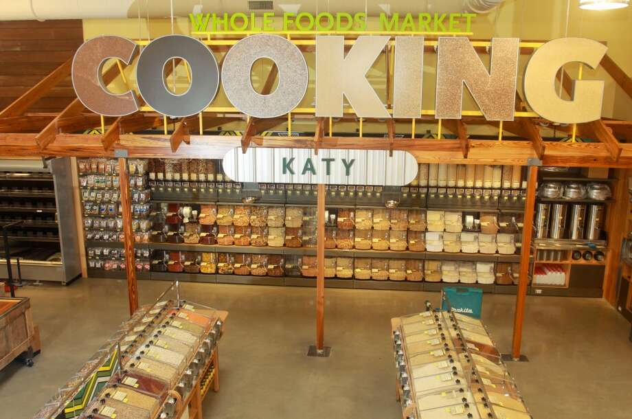 The bulk cooking department in the new Whole Foods Market in Katy, Jan. 24, 2013.