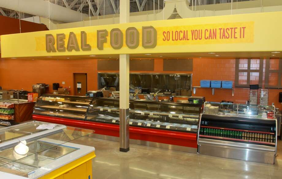 The prepared foods department in the new Whole Foods Market in Katy, Jan. 24, 2013.