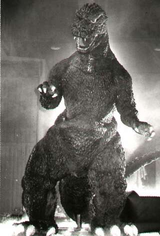 Godzilla, a popular movie creature. 7/7/1995. -1- McBride. Photo: None