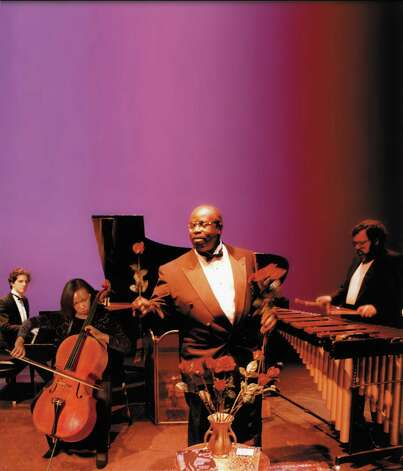 Core Ensemble in a performance of Of Ebony Embers: Vignettes of the Harlem Renaissance on Thursday, January 31, 2013, at 7:30pm.  at University at Albany Performing Arts Center. (Courtesy UAlbany)