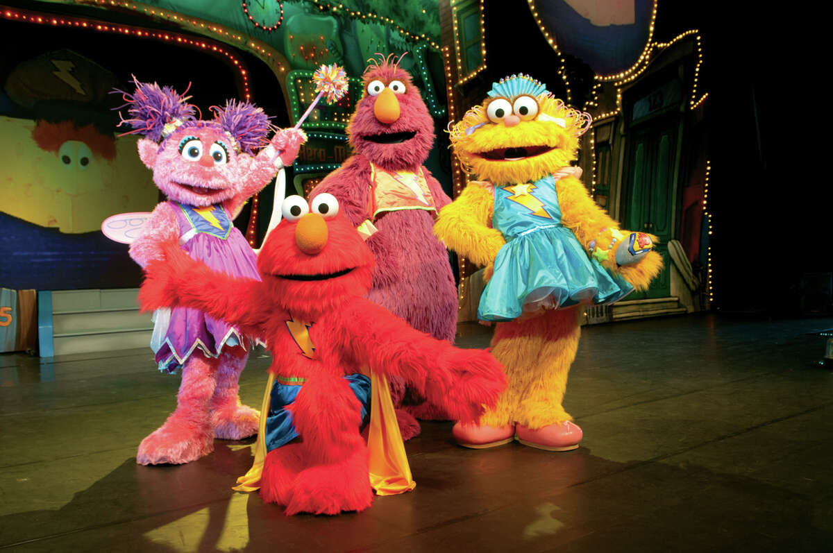 """""""Sesame Street Live: Elmo's Super Heroes"""" comes to the Palace Theatre in Albany at 10:30 a.m. and 7 p.m. Friday; 10:30 a.m., 2 p.m. and 5:30 p.m. Saturday; and 1 and 4:30 p.m. Sunday. Click here for more information. (VEE Corp.)"""