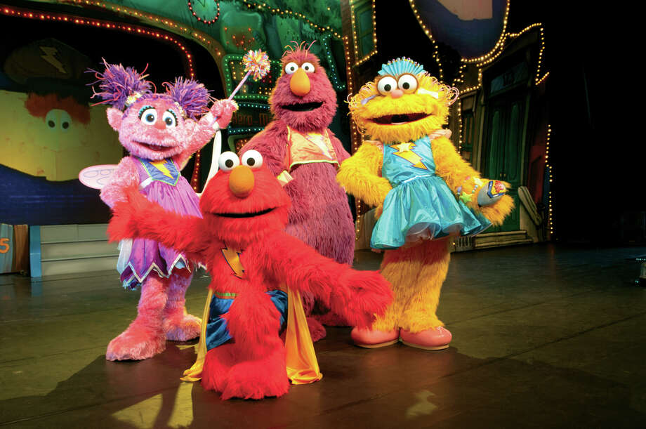 There will be much singing and dancing at Reliant Arena when Elmo, Grover and Abby Cadabby welcome Chamki, Grover's friend from India, to Sesame Street.