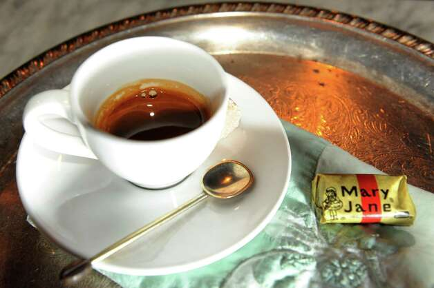 Espresso on Friday, Jan. 18, 2013, at The Charles F. Lucas Confectionery and Wine Bar in Troy, N.Y. (Cindy Schultz / Times Union) Photo: Cindy Schultz / 00020821A