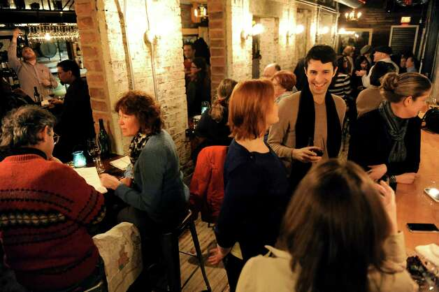 Bar area on Friday, Jan. 18, 2013, at The Charles F. Lucas Confectionery and Wine Bar in Troy, N.Y. (Cindy Schultz / Times Union) Photo: Cindy Schultz / 00020821A