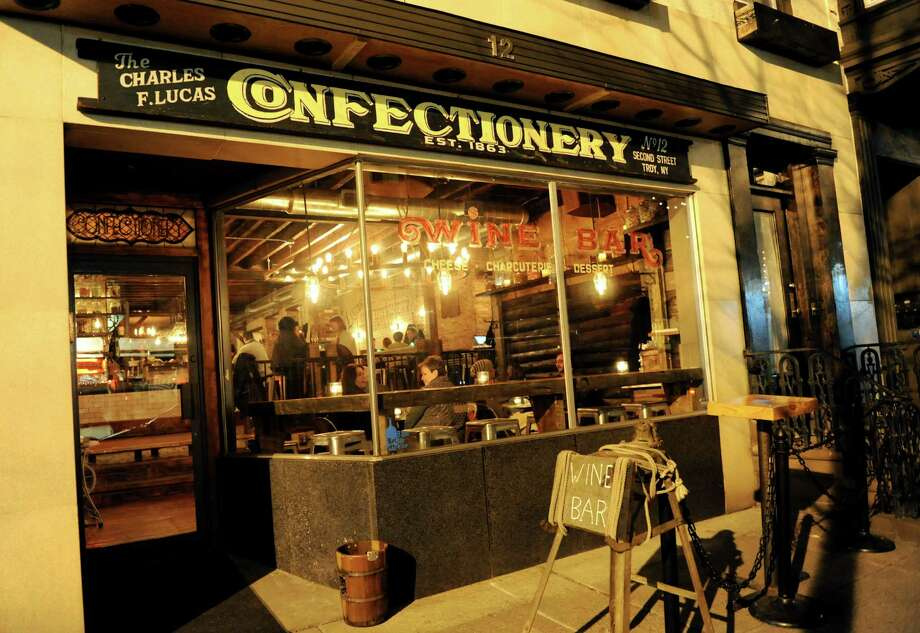 The Charles F. Lucas Confectionery and Wine Bar in Troy, N.Y. (Cindy Schultz / Times Union) Photo: Cindy Schultz / 00020821A