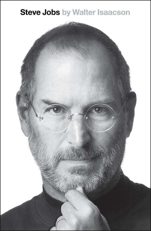 This book cover image released by Simon & Schuster shows Steve Jobs, by Walter Isaacson. Photo: Simon & Schuster, AP / Simon & Schuster