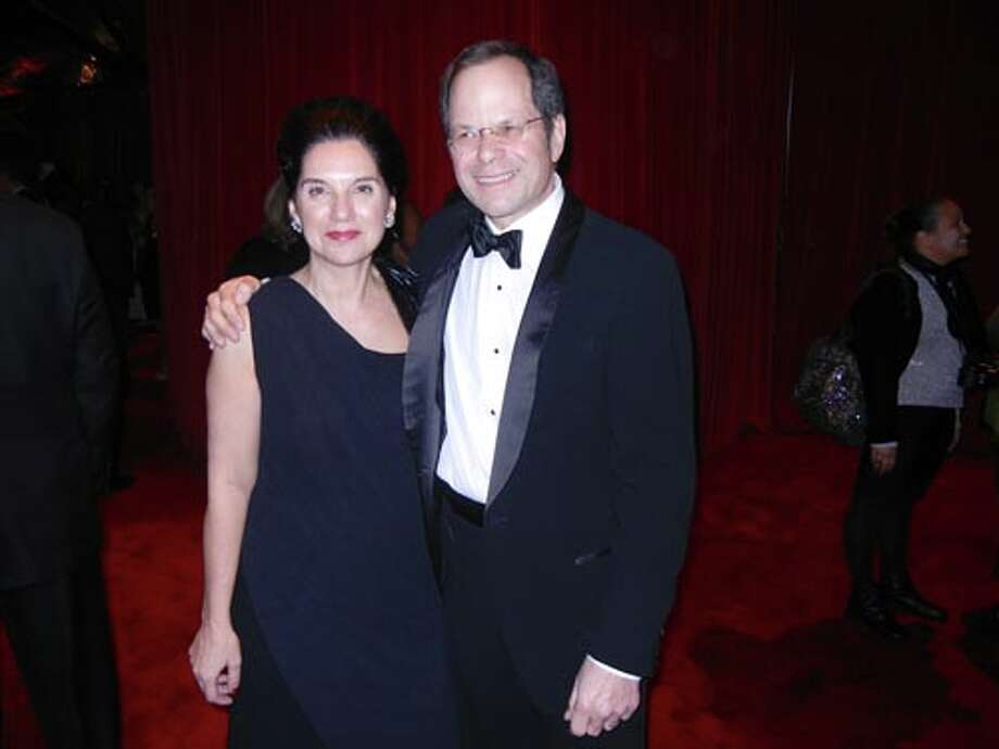 Teresa Panteleo and her husband, SFJAZZ Founder and Artistic Director Randall Kline