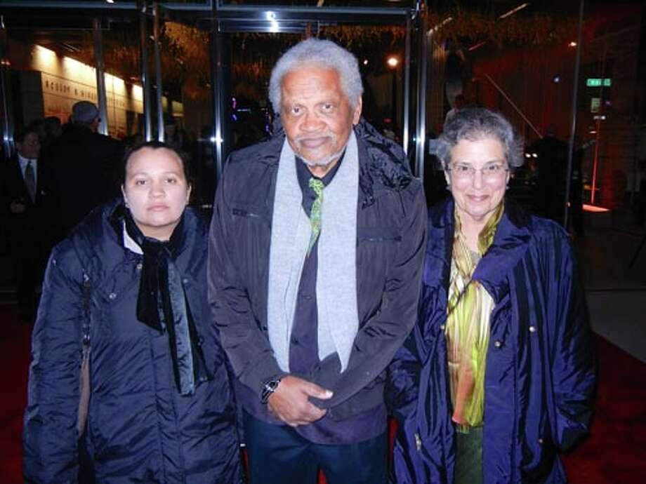 Author Tennessee Reed (left) with her parents, SFJAZZ Center Poet Laureate Ishmael Reed and author-choreographer Carla Blank