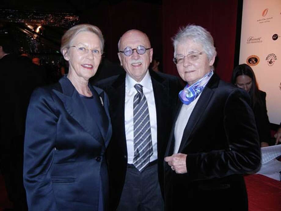 Swedish Consul General Barbro Osher (left) with Wilkes Bashford and Ute Bowes
