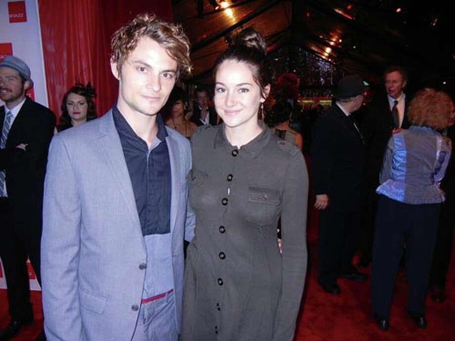 Actors Shiloh Fernandez and Shailene Woodley