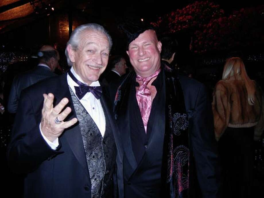 Blues great Charlie Musselwhite (left) and Leonardo
