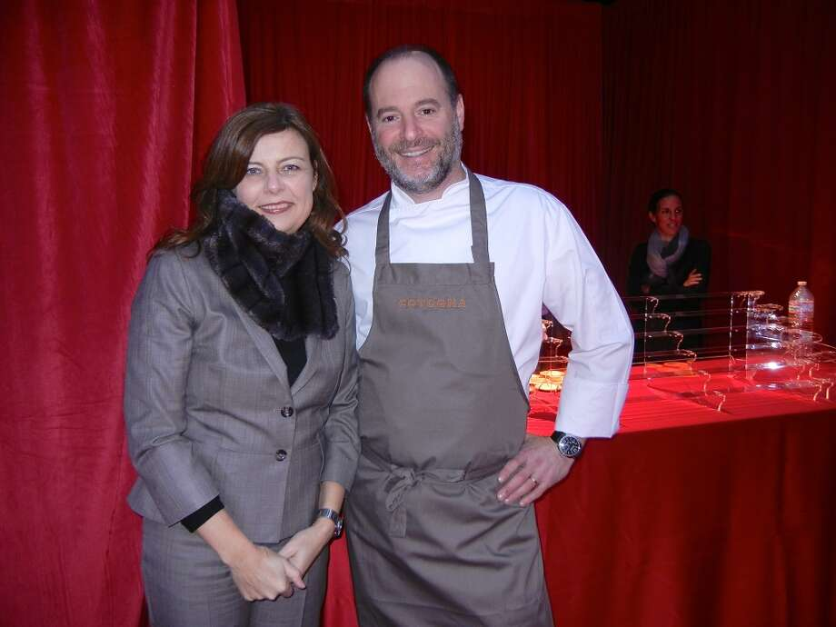 Quince/ Cotogna restauateur Lindsay Tusk and her hus band, chef Michael Tusk served up Po'Boys
