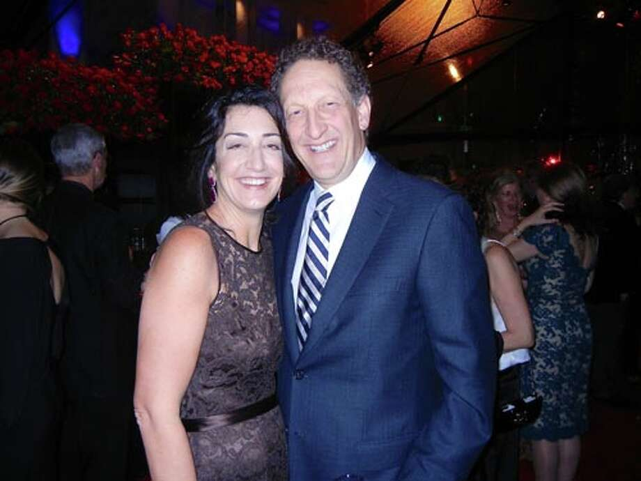 Pam Baer and her husband, SF Giants President Larry Baer