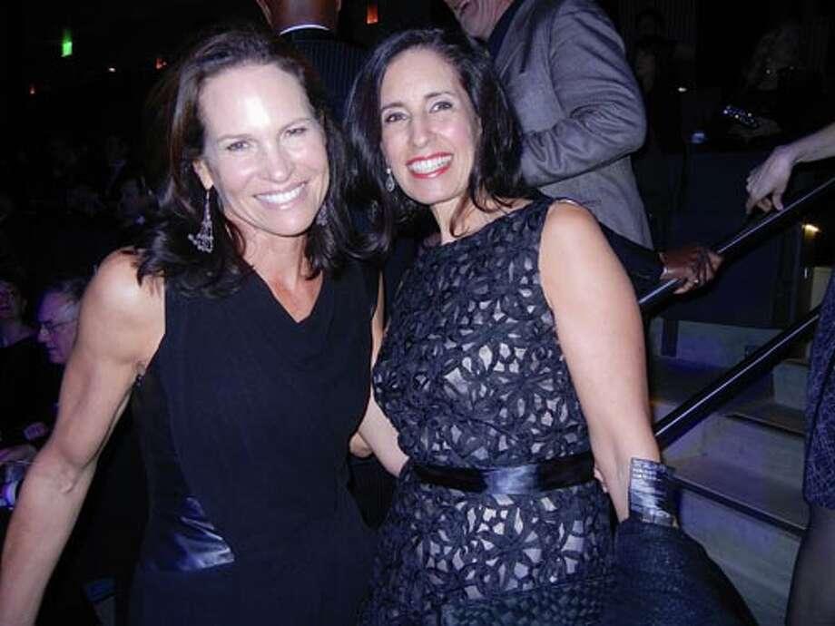 Randi Fisher (left) and Darian Swig