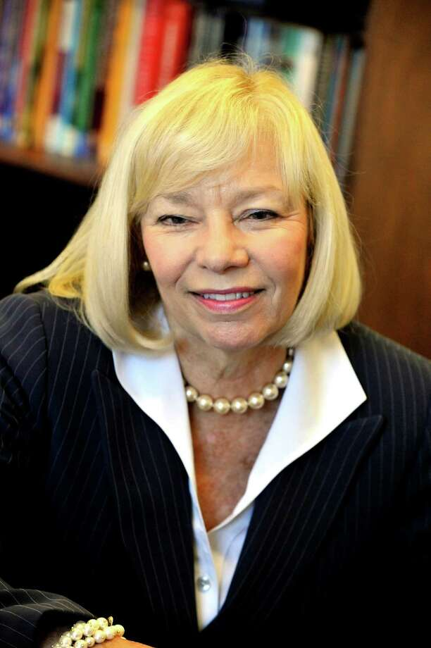 Janet Robinson, Newtown superintendent of schools. Photo: Michael Duffy