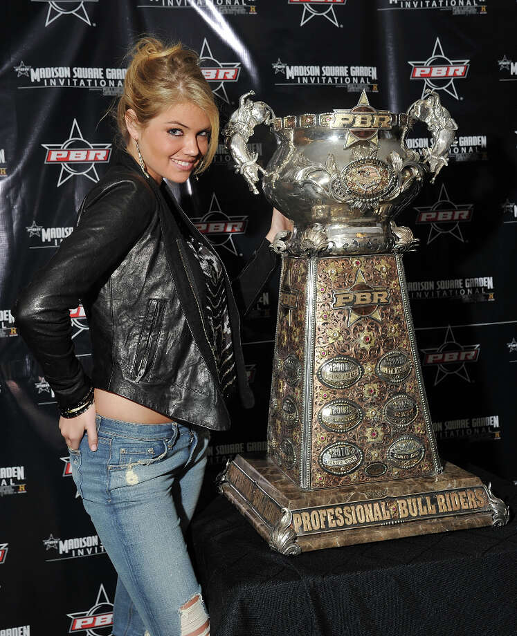 Upton at the Champions of Professional Bull Riding Madison Square Garden Invitational Pre Party. Photo: Mike Coppola, Getty Images / 2012 Getty Images