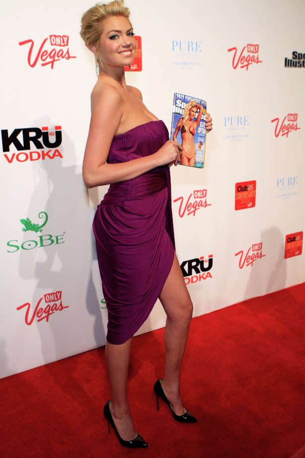 Upton at Club SI Swimsuit event. Photo: Jacob Andrzejczak / 2012 Getty Images