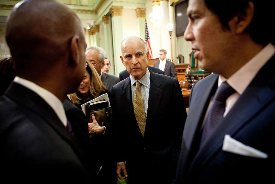 Jerry Brown seeks fewer regulations on school funding. Photo: Max Whittaker/Prime, Special To The Chronicle