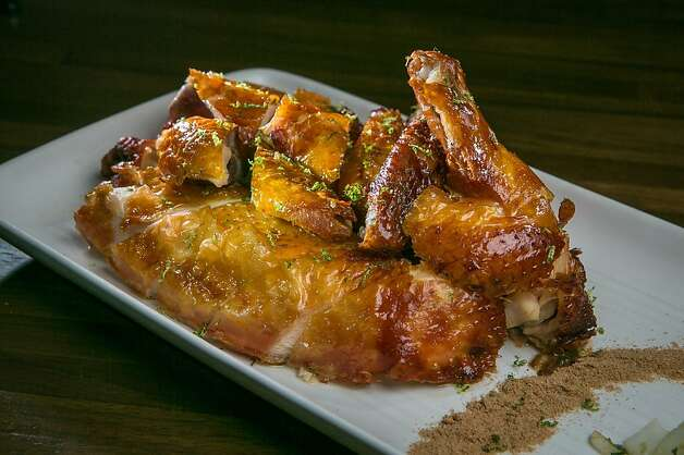 Crispy Roast Chicken at My China restaurant in San Francisco, Calif. is seen on Saturday, January 19th, 2013. Photo: John Storey