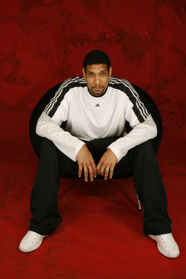 Tim Duncan of the Spurs poses for a portrait during the 2006 All-Star weekend. Photo: Nathaniel S. Butler, NBAE/Getty Images / 2006 NBAE