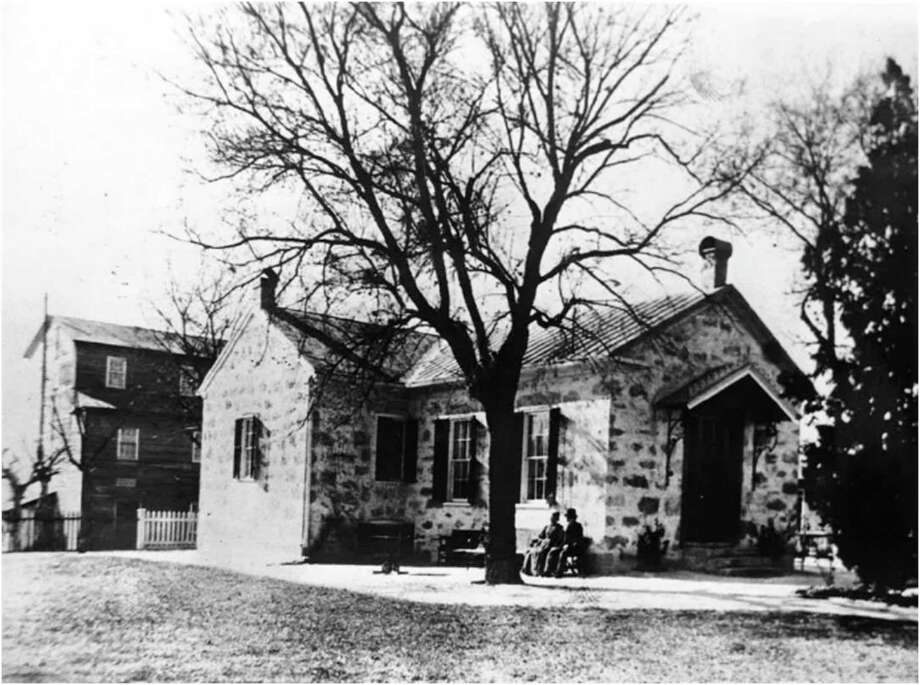 "This photo of the Guenther House, taken in the 1860s, is part of the ""Wanderlust: From German to Texan"" exhibit at the Witte Museum. Photo: Witte Museum"