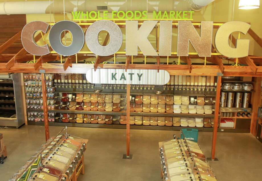 A bulk cooking department is one of the features of the Whole Foods Market in Katy, which will open Wednesday. Photo: Gary Fountain, Freelance / Copyright 2013 Gary Fountain.