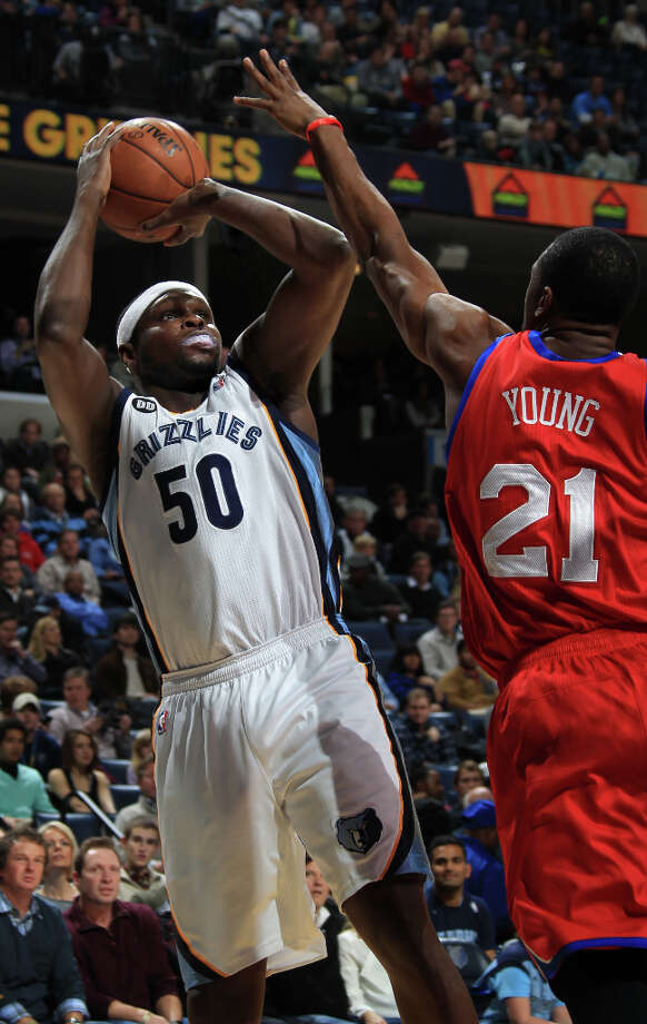 Name: Zach RandolphPosition: Power forwardTeam: Memphis GrizzliesAll-Star Appearances: 2 Photo: Nikki Boertman, Associated Press / FR2769 AP