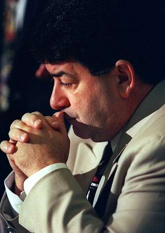 Eddie DeBartolo watches his attorneys describe his breach-of-contract lawsuit against his sister. Photo: Jerry Telfer, SFC