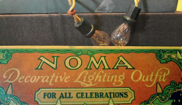 There are more then 60 artifacts on display that back in Edison's time, were major inventions, but now are taken for granted in our everyday lives. One such piece is this early version of the Christmas light bulb. This set is circa 1929.  The Edison Museum, located at Edison Plaza inside the old Travis Street Substation building in Downtown Beaumont, is dedicated to the inventions and innovations of Thomas Alva Edison, the man who changed the world with the incandescent light bulb.   Dave Ryan/The Enterprise